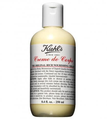 Питательный крем для тела Creme de Corps, Kiehl