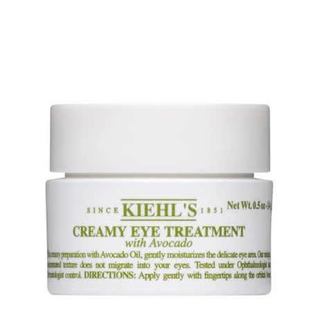 Крем для кожи вокруг глаз с авокадо, Creamy Eye Treatment with Avocado, Kiehl