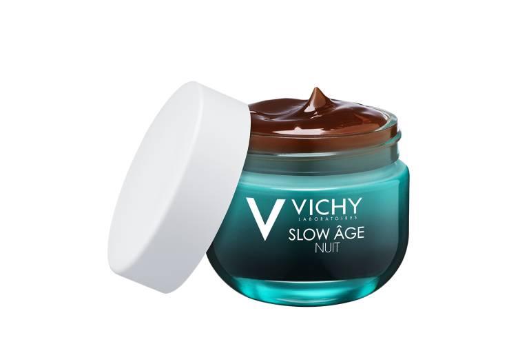 Восстанавливающий ночной крем-маска для интенсивной оксигенации кожи Slow Age, Vichy
