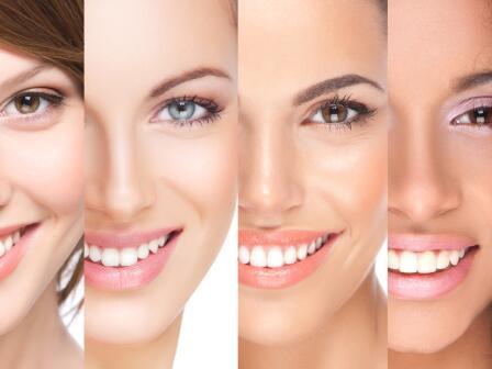 самые разные фототипы кожи