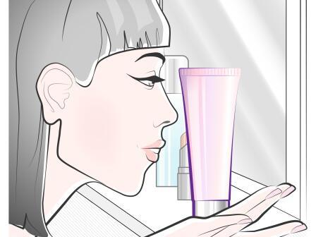 Девушка в ванной иллюстрация