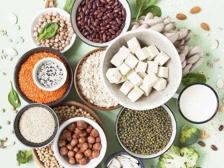 полезная еда для кожи: бобы, тофу, брокколи, семена