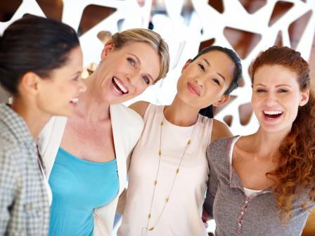 Девушки с разными типами лица