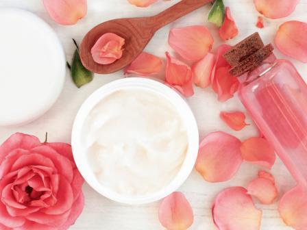 лепесток розы обработка паром для розовой воды для лица