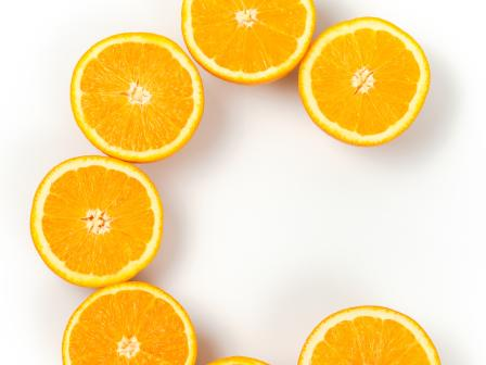 C из апельсинов